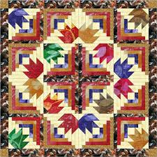 Diamond Batik Leaves/Quilt Kit, Precut Ready to Sew   Leaves ... & Diamond Batik Leaves/Quilt Kit, Precut Ready to Sew Adamdwight.com