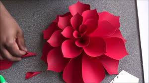 Paper Flower Video Ariana Giant Paper Flower