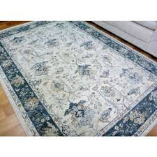cream and blue area rug amazing cream rug with blue border classical design floor area for cream colored area rugs popular