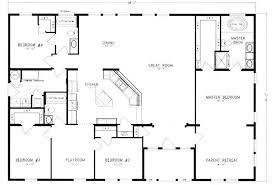 home floor plans. Unusual Ideas 4 Barn Home Floor Plans Bedroom Metal 40×60 Homes Plans. «