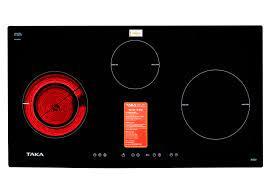 Bếp điện từ Taka IR3EU - Bếp điện từ kết hợp 3 vùng nấu