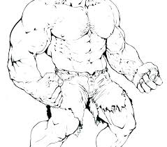 The Hulk Coloring Pages Printable Psubarstoolcom