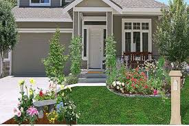 Remarkable Cheap Landscaping Ideas For Front Of House Home Remodel With
