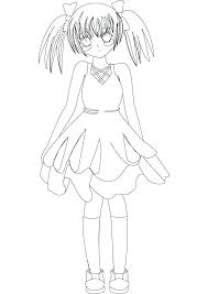 Anime Cat Girl Coloring Pages Cute Cat Coloring Pages Cute Puppy
