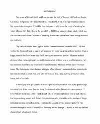 40 Autobiography Examples Autobiographical Essay