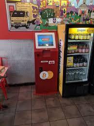 Chicken Wing Vending Machine Amazing Bitcoin ATM In Hoboken Cluck U Chicken