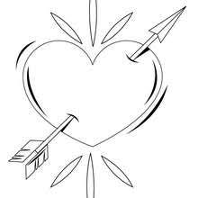 Small Picture Heart roses bunch coloring pages Hellokidscom