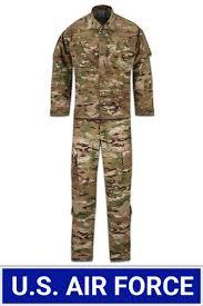 Army Ocp Size Chart Female Usaf Scorpion Ocp Acu Coat And Trouser Ensemble 50 50 Nyco
