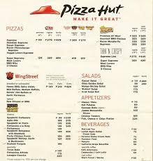 pizza hut menu 2015. Simple Pizza Pizza Hut Menu Throughout 2015 Z