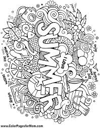 Ask, and you shall receive! Doodles 108 Advanced Coloring Page Summer Coloring Pages Coloring Book Pages Coloring Pages