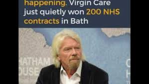 Image result for uk government richard branson NHS