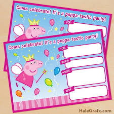 Princess Invitations Free Template Free Printable Peppa Pig Birthday Invitations Peppa Pig Invite Free