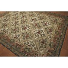 Victorian Waverly Luxury Collection Hand Hooked Needlepoint Area Rug  (8'4