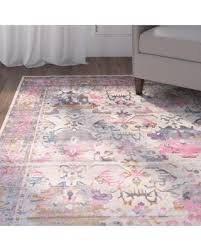 mistana charlena pink pink area rugs as area rugs target