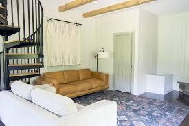 diy wood beams tutorial guest house