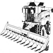 Coloriage De Tracteur Imprimer