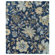 brooklyn brody blue 8 ft x 11 ft area rug