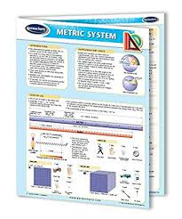 Metric System Chart Guide Quick Reference Guide By Permacharts