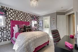 teenage bedroom wall designs. Alhambra Wallpaper By Dedar In Teenage Girl Bedroom Teenage Wall Designs