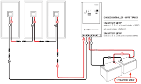 solar panel regulator wiring diagram teamninjaz me Grid Tie Solar Wiring-Diagram beginners guide to solar charge controllers within panel regulator wiring solar panel diagram