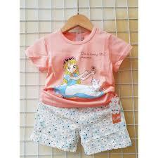 Quần áo thời trang mùa hè cao cấp trẻ em bé trai và bé gái sành điệu chính  hãng 69,000đ
