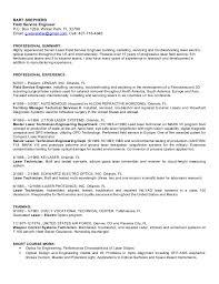 BART SHEPHERD Field Service Engineer P.O. Box 1269, Winter Park, FL 32790  Email: