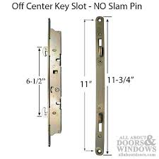 2 point mortise locks glass patio door