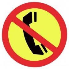 Resultado de imagem para aviso linha telefonica