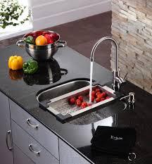 kraus stainless steel sinks. Plain Kraus KRAUS Stainless Steel Colander To Kraus Sinks A