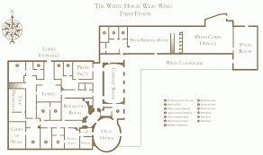 oval office floor plan. Floor Plan Of The White House West Wing Oval Office Residence Washington