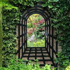 mirrors and outdoor space mirror