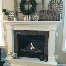 fireplace mantels. Antiquefarmhouse Cotton Stems More Fireplace Mantels L