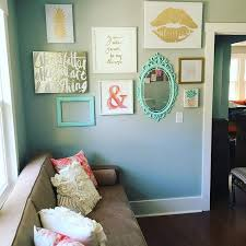 living room decorating ideas teal. instagram gallery wall in peach teal and gold glitter pineapple home decor office diy living room decorating ideas a