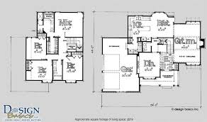 2 story 4 bedroom house floor plans awesome 2200 2700 sq for 2700 sq ft house