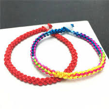 New design WHOLESALE <b>Hand Woven</b> Braided <b>Red</b> Line Rope ...
