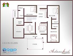 1000 sq ft house plans 4 bedroom kerala style