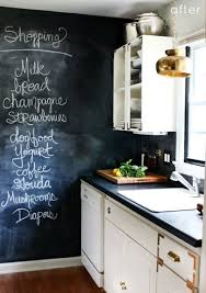 I prefer black chalk paint over the green personally, as green chalk  reminds me of school to much. Even if the chalk wall is blank it looks good  and it's ...