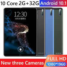 J10 3G Anruf Tablet 10,1 zoll Deca Core 2GB 32GB WiFi Tablet + 16GB TF  karte für Haushalts Computer Zubehör|Tablett-LCDs und -Paneele