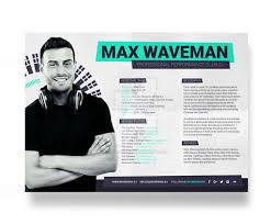 Headshot Resume Format Acting Cv Template Word Theatre With