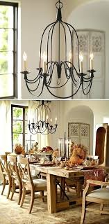 pottery barn lighting chandelier chic glass ceiling chandelier