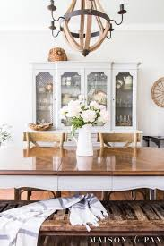 french country dining rooms. A French Country Dining Room Embodies Rustic Elegance With Neutrals, Wood Tones, And Peony Centerpiece. Rooms I