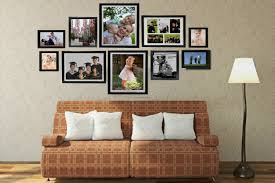 full size of pretty large and multi opening black standing photo family collage frames for