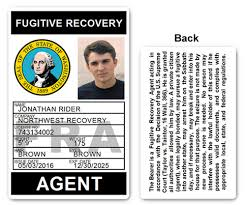 Recovery Bfp016 Id Pvc Card Fugitive