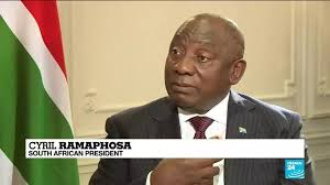 Previously, the power balance was somewhat precarious for ramaphosa, who was elected party president in december 2017 with a margin of only 179 votes over his challenger nkosazana dlamini zuma from magashule's faction. South African President Tells France 24 The Situation In Gaza Brings Back Memories Of Apartheid France 24