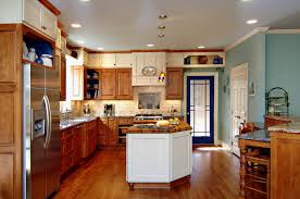White Kitchen Wood Floor White Kitchen With Wood Floor Awesome Innovative Home Design