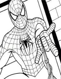 Disegni Gratis Da Colorare Spiderman Disegno Di Spiderman A