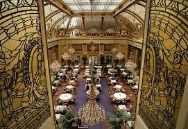 the garden court at the palace hotel in san francisco calif on thursday