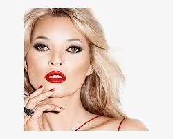 kate moss red lipstick transpa png