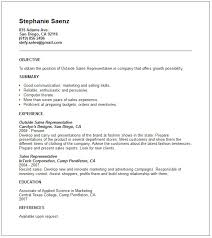 Resume Sample For Sales Support     outside sales representative resume examples outside sales professional