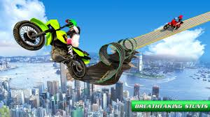 stunt bike impossible tracks android apps on google play